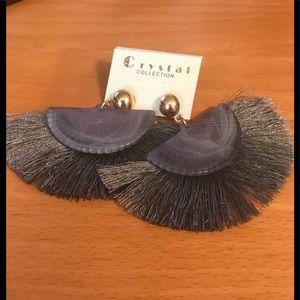 Boho Tassel Fan earrings